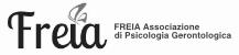 FREIA Associazione di Psicologia Gerontologica