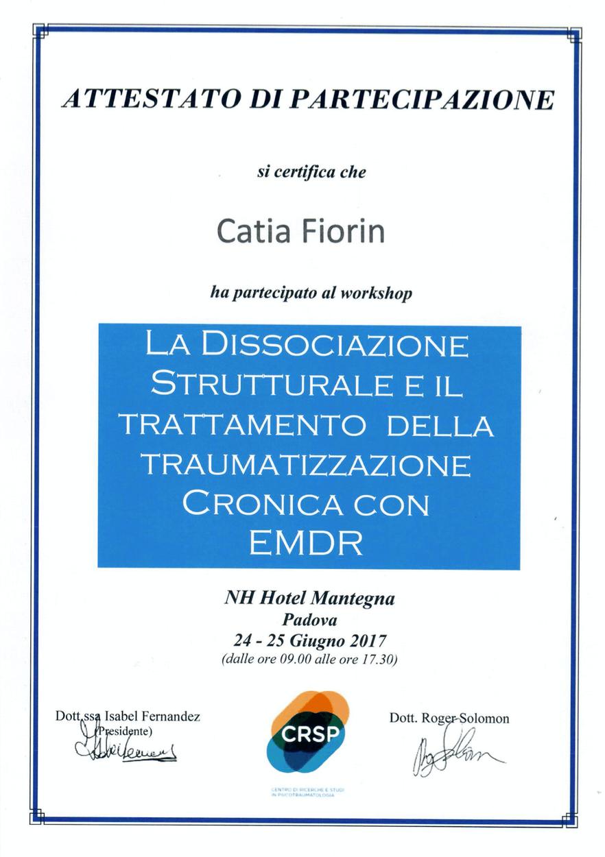 EMDR La dissociazione strutturale e il trattamento della traumatizzazione cronica con EMDR